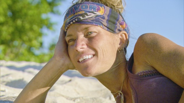 Angela Perkins on Survivor: Ghost Island