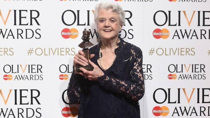Angela Lansbury wins first Olivier award