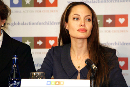 Angelina Jolie -- Global Action Network for Children