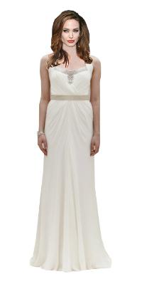 Angelina Jolie in Jenny Packham wedding dress?