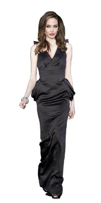 Angelina Jolie in L'Wren Scott wedding dress?