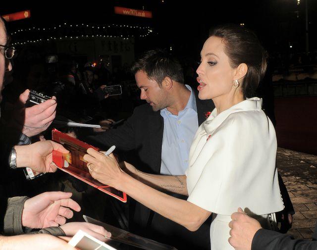 Angelina Jolie is left-handed