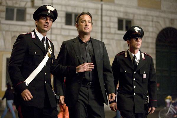 Victor Alfieri is protecting Tom Hanks in Angels and Demons