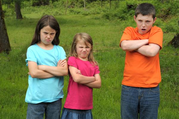 Angry Siblings