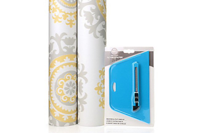 Gifts for HGTV Lovers: Removable Wallpaper