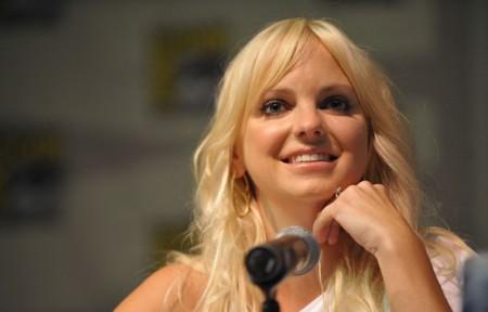 Anna Faris at Comic-Con in July