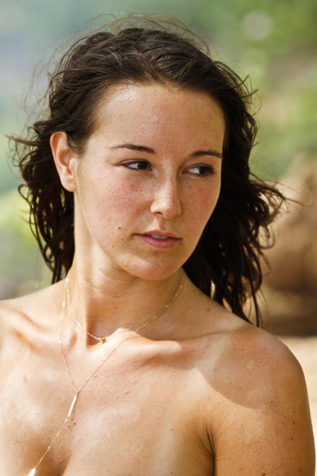 Anna Khait on Survivor: Kaoh Rong