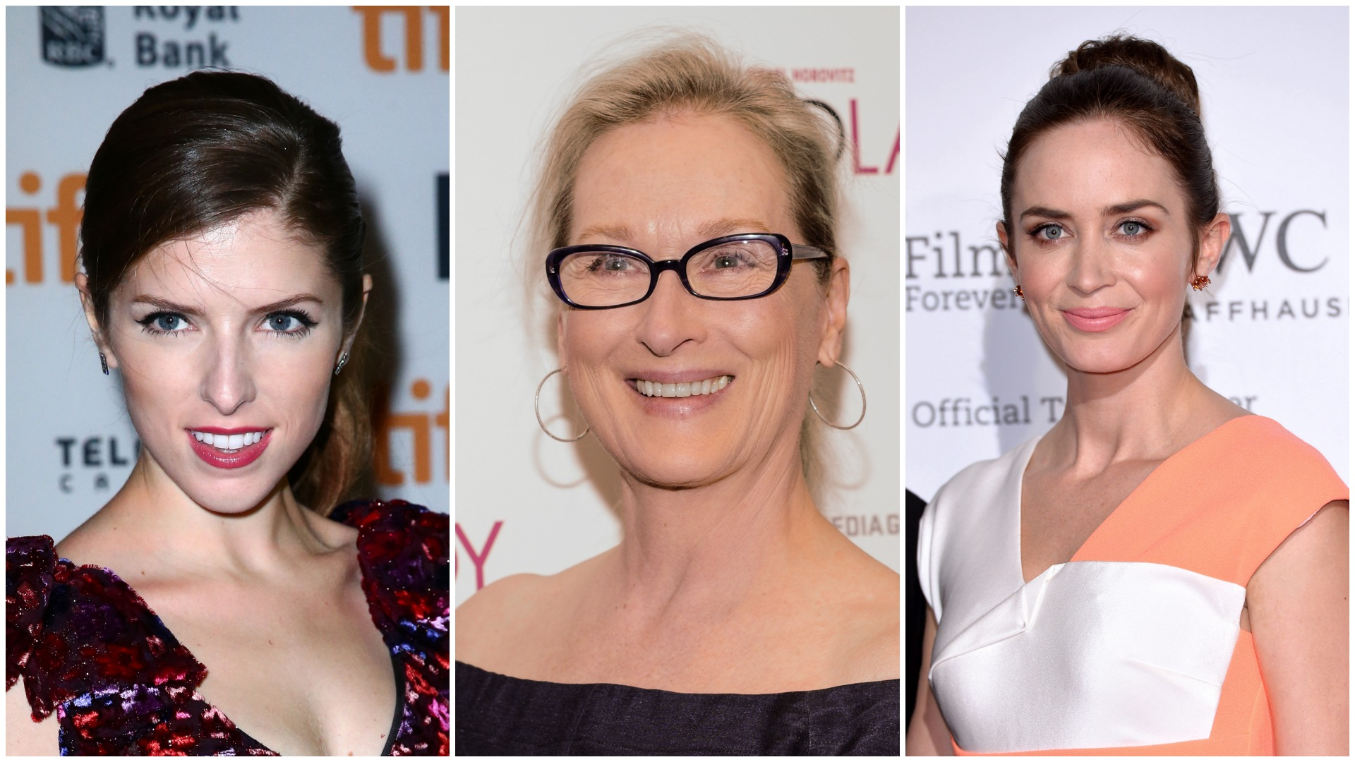 Anna Kendricks, Meryl Streep and Emily Blunt sing in Into the Woods