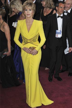 Jane Fond at the 2013 Oscars