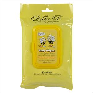 Bella B Soothing Wipes ($5.99)
