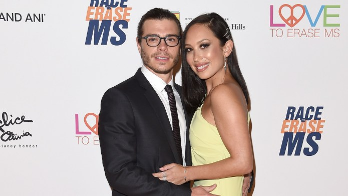 Cheryl Burke & Matthew Lawrence Are