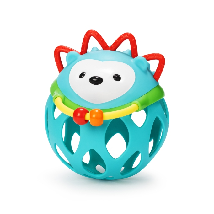 Baby toys your dog will love: Skip Hop hedgehog rolling rattle