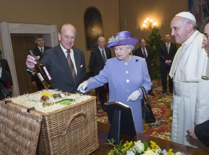 Queen Elizabeth II & Prince Philip in 2014
