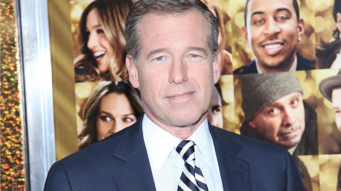 Brian Williams was never under fire