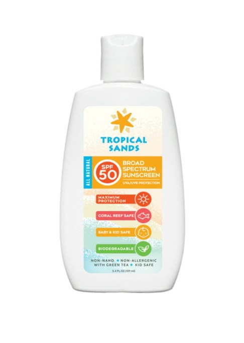 Tropical Sands SPF 50 Unscented Mineral Sunscreen