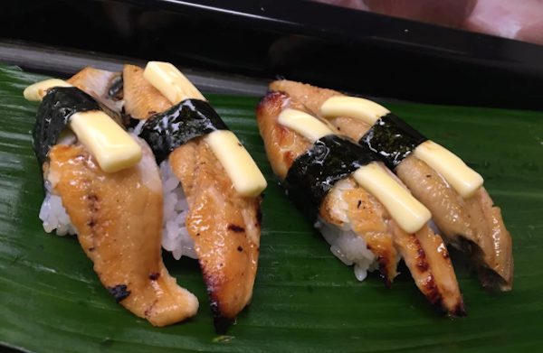 Butter sushi and 10 more weird