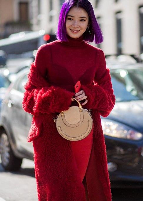 Stunning Ways To Style Short Hair   Purple Bob