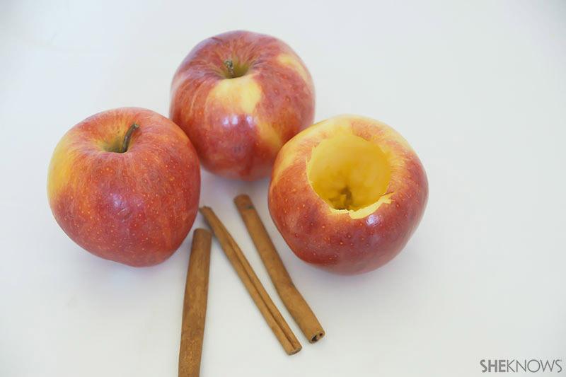 Apple Bubbles   Sheknows.com - cored apples
