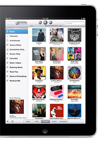 Apple iPad with iTunes