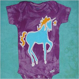Apple Jaxie unicorn onesie | Sheknows.com