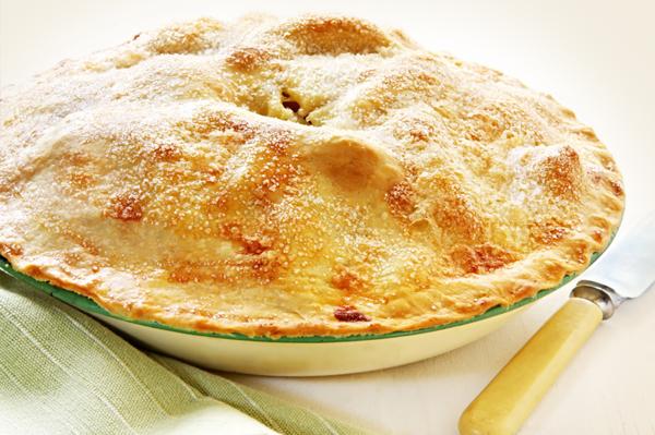 Apple Pie Coated in Sugar
