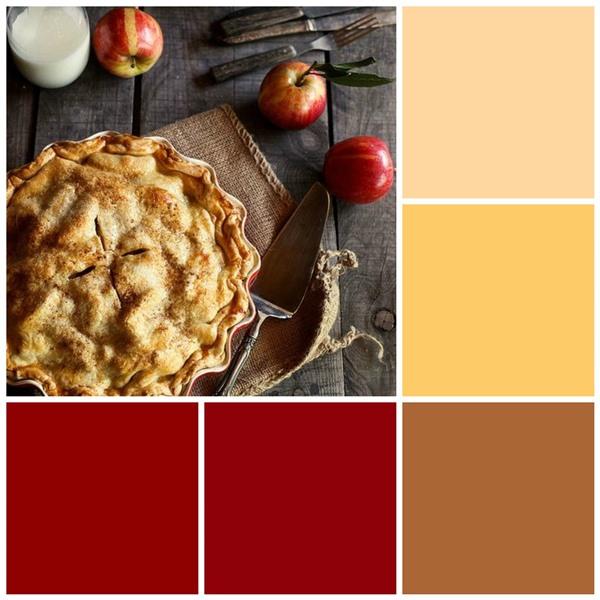 Apple pie color scheme