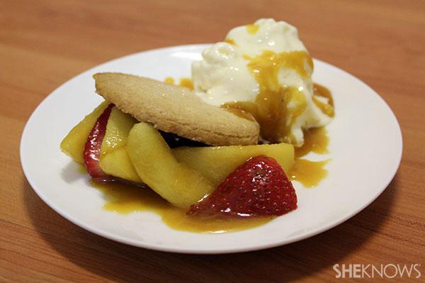 Apple pie smash