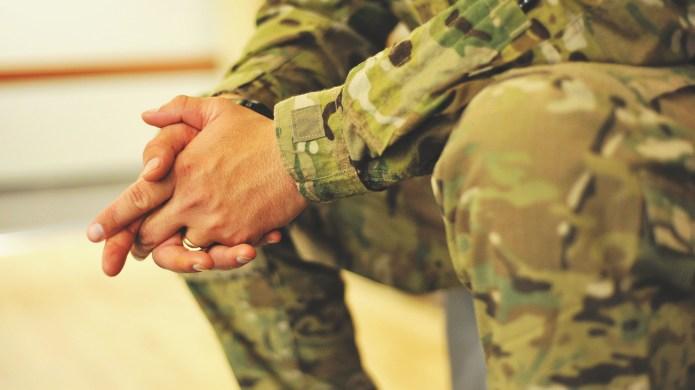 Army, Military, deployment, hands, uniform, green.