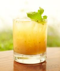 Apricot bourbon cocktail