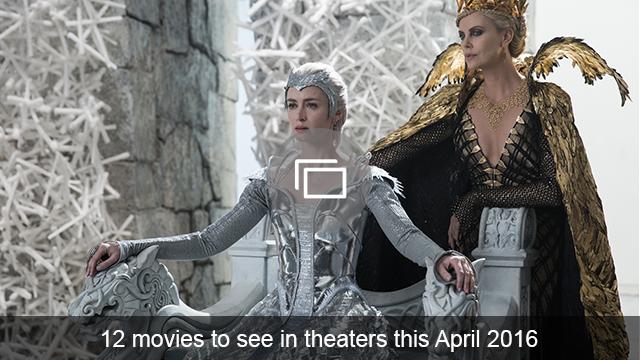 April 2016 movies slideshow