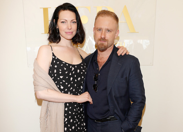 Laura Prepon and Ben Foster attend the Leave No Trace party