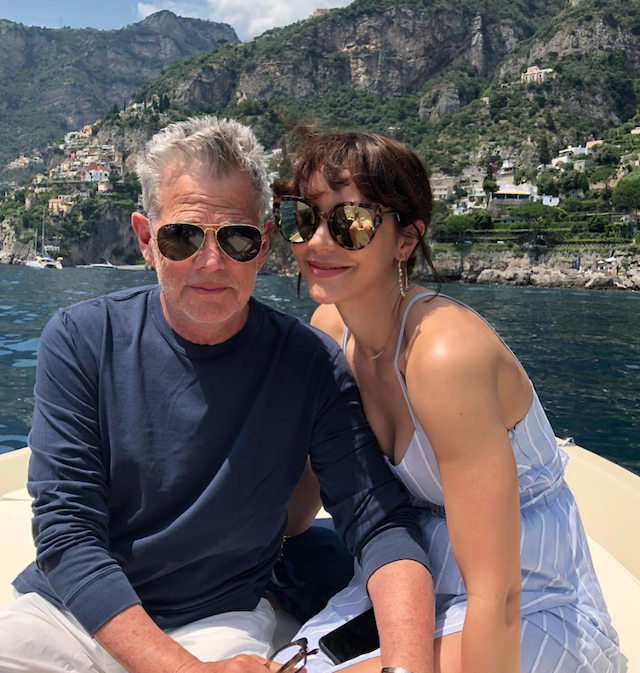 Photo of David Foster and Katharine McPhee in Capri, Italy