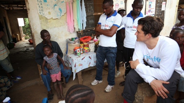 On 18 March, (right) UNICEF Goodwill