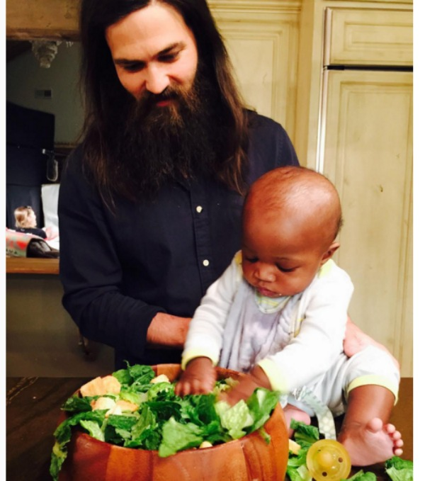 Jep Robertson and son, Gus