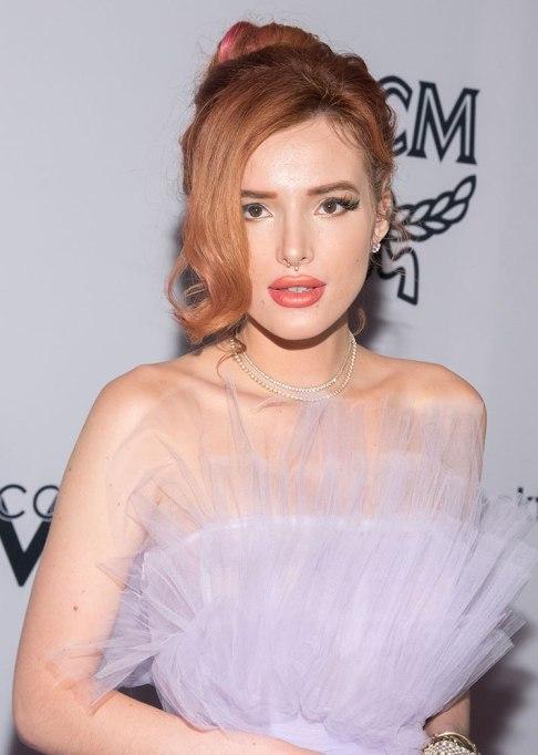 Best Celebrity Hair Transformations of 2017: Bella Thorne's ravishing red shade