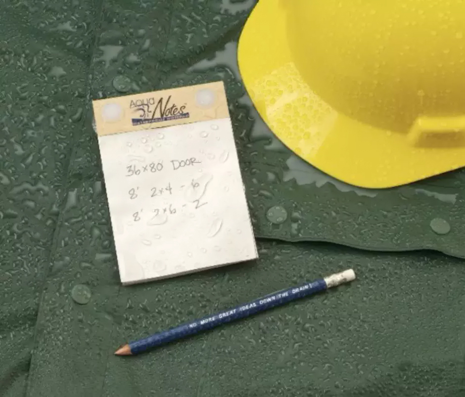Gifts Your Kids' Teacher Really Wants: Aquanotes Waterproof Notepad