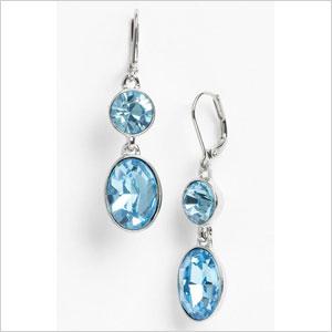 Aqua surf lodge earrings