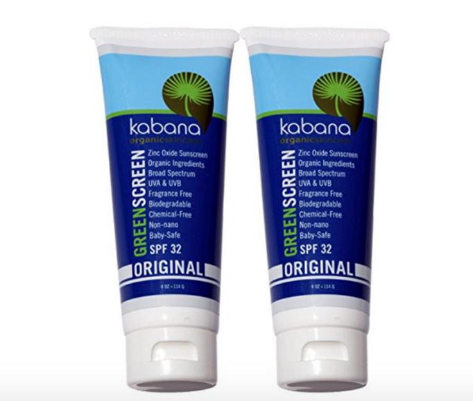 Kabana Organic sunscreen