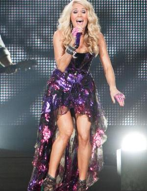Carrie Underwood hears The Sound of