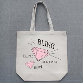 Bling Bling Custom tote bag