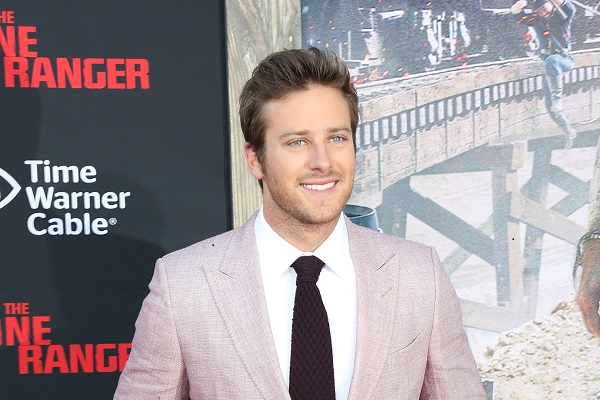 Armie Hammer, The Lone Ranger premiere