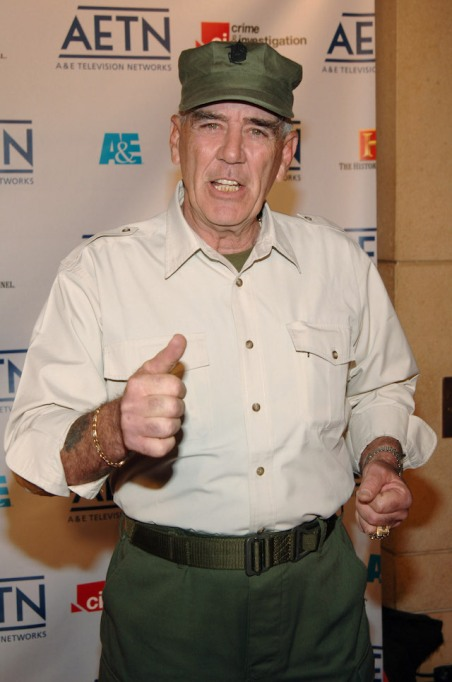 R. Lee Ermey at the 2005-2006 A&E Television Networks UpFront