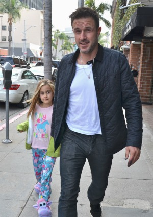 David Arquette and daughter Coco