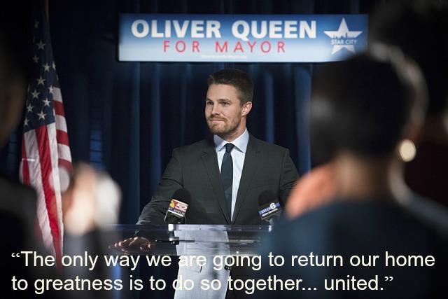 Arrow - Beyond Redemption Oliver mayor
