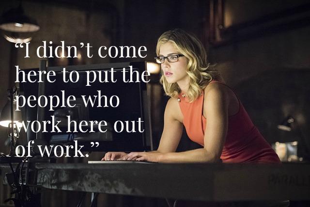 Arrow - Felicity CEO