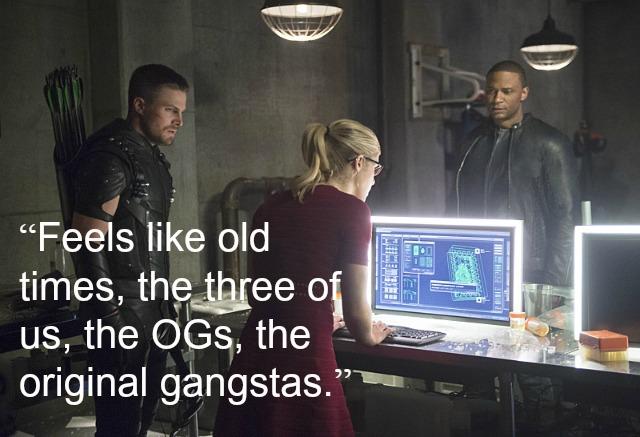 Arrow - Original Team Arrow quote