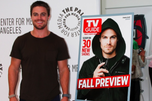 Stephen Amell from Arrow
