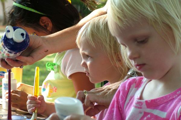 Art party for preschoolers