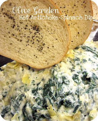 artichoke-spinach dip