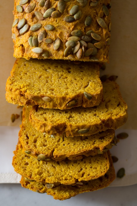 Pumpkin seed recipes to try this fall: pumpkin manchego beer bread